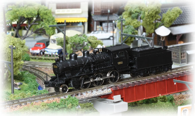 中型蒸気機関車: 18688 デフなし・箱形テンダー